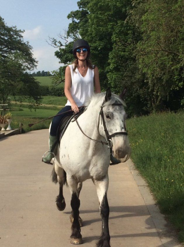 Zoe gave up her equestrian dream for a career in