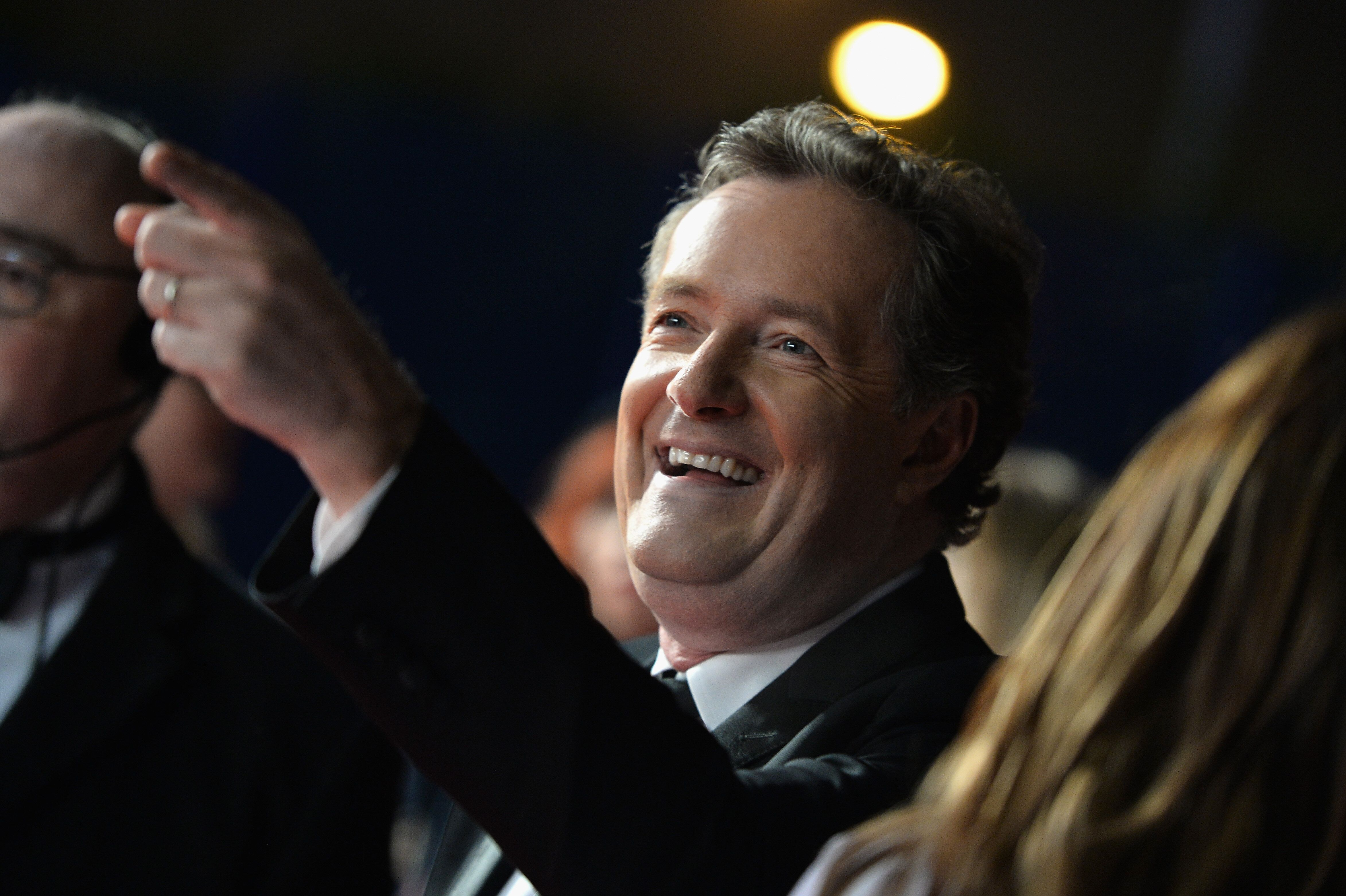 LONDON, ENGLAND - JANUARY 25:  Piers Morgan attends the National Television Awards on January 25, 2017 in London, United Kingdom.  (Photo by Jeff Spicer/Getty Images)