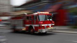 Le bar La Porte Rouge de Montréal victime d'un incendie probablement