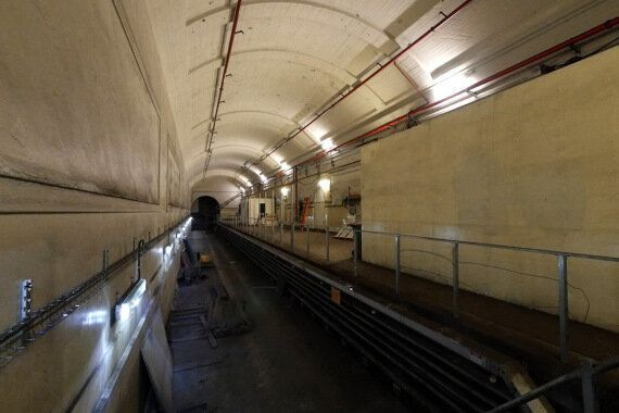 St James Station Tunnels Show A World Beneath