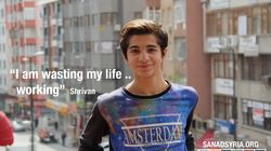 This Syrian Refugee From Aleppo Will Do Whatever It Takes to Get an