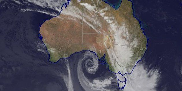Strong rains are lashing Victoria, NSW and