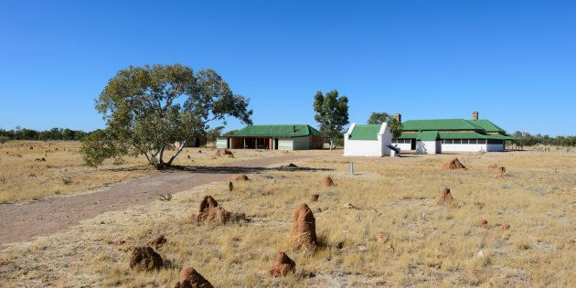 Tennant Creek Telegraph Station still
