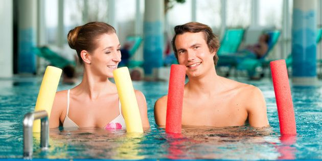 Someone, somewhere had the idea to make a pool noodle, and we all thank