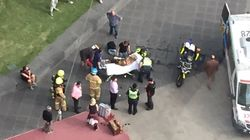 Woman Catches On Fire On Melbourne