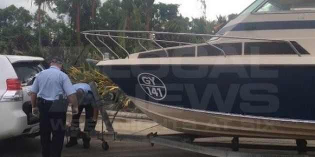 The boat seized near Cairns last