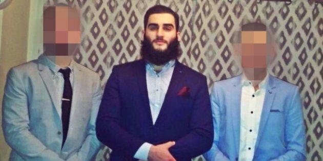 Tamim Khaja in in police custody.
