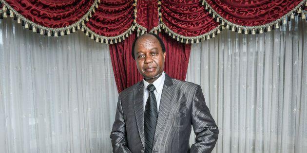 Portrait of Aggrey kiyingi Chairman Uganda Federal Democratic Organisation He was blocked from running...