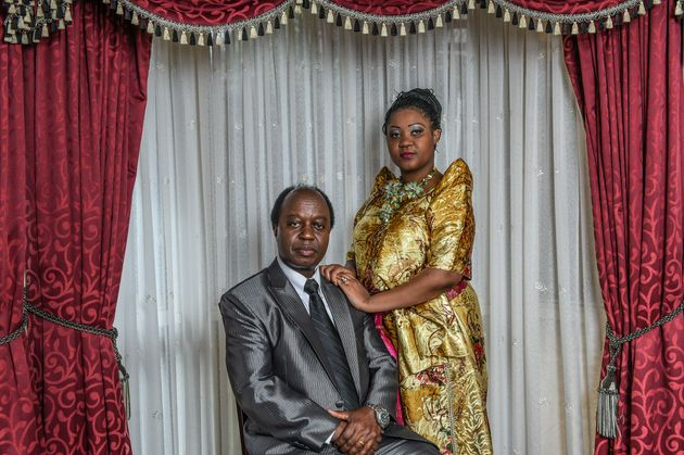 Aggrey Kiyingi, pictured here on June 19 last year with his wife Mayimuna Nakayiira, wants the international...
