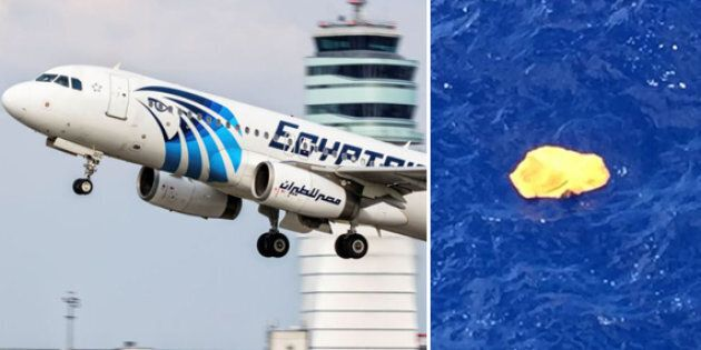 An EgyptAir Airbus 320 and wreckage found floating in the Mediterranean, which has not been linked to...