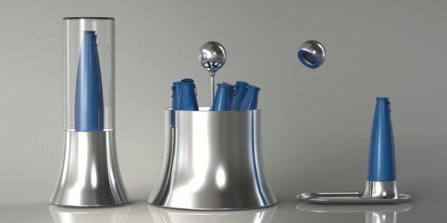 It's a little bit fancy... The Kareem Rashid-designed barware range for PepsiCo, featuring aluminium...