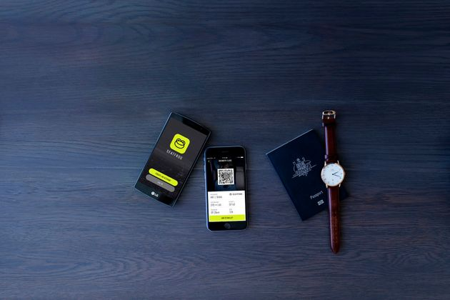 Seatfrog will send winning bidders a mobile boarding pass they scan at the
