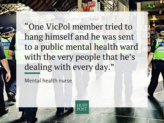 How Victoria Police Has Dealt With Mental Health And