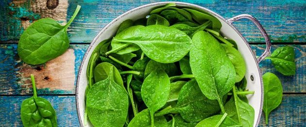 Leafy greens contain