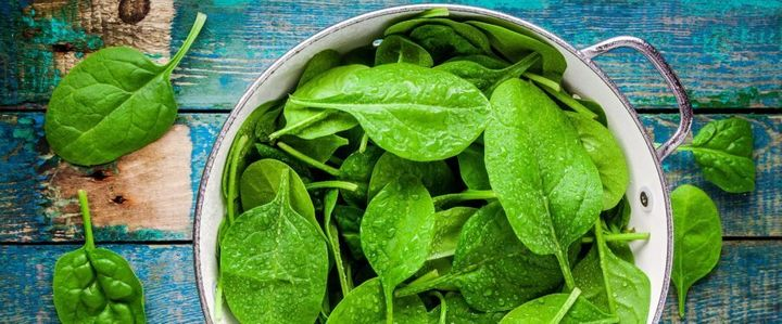 Leafy greens contain nanoparticles.