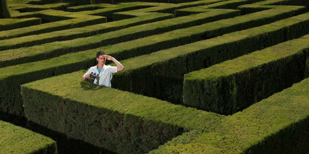 How to escape the maze? Maybe INTUITION canhelp!