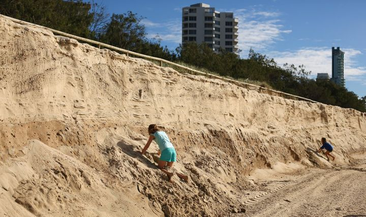 Gold Coast beaches in Queensland are notoriously affected by coastal erosion.
