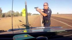 Shocking Footage Shows Police Officer Pulling Gun On Speeding