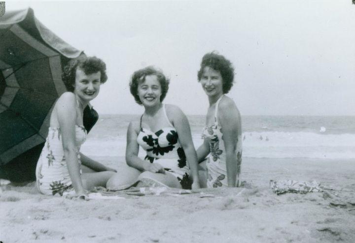 Collaroy beach in 1952.