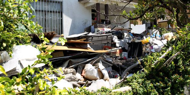 The notorious hoarder's house in Bondi, Sydney, is about to be sold by the government as a derelit site.22nd...