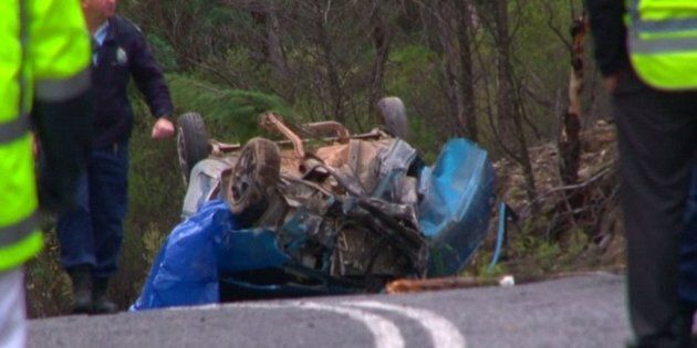 A 14-year-old boy was killed when the car he was travelling in crashed near Mudgee in NSW's central