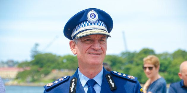 NSW Police Commissioner Andrew Scipione is one of today's award