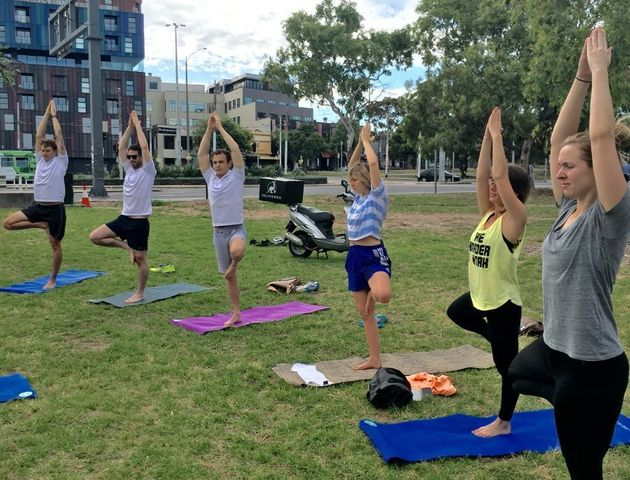 Aussie small business Deliveroo pays for staff yoga classes to keep them active and