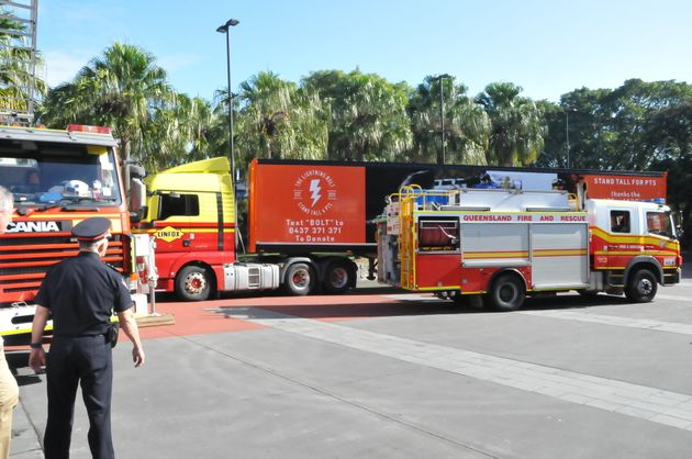 The national convoy launched in Brisbane on June 14 ahead of a 15 day trip to