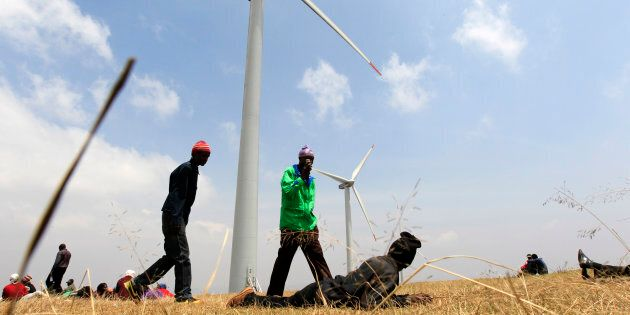 Kenya generates 75 percent of its total electricity production from renewables.