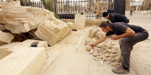 When two Polish heritage experts first restored the famed lion statue in Syria's Palmyra in 2005, they...