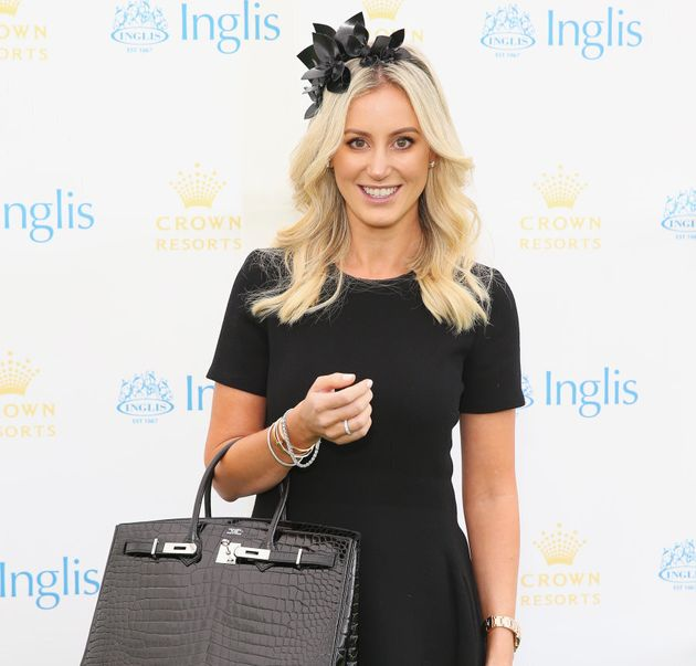 Roxy Jacenko attending the Crown Resorts Ladies Lunch at Inglis Stables at Inglis Newmarket Stables in...