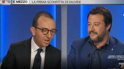 De Angelis regala a Salvini il libro sulle violenze di Casapound: