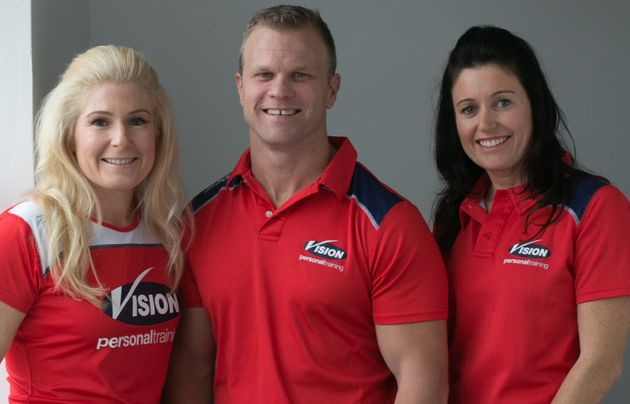 Amanda Doyle runs Vision Fitness in Randwick with her husband Wes, and her sister Stephanie