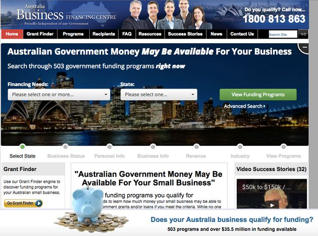 The ACCC has warned small business owners about the Australian Business Funding Centre's
