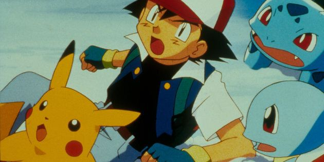 A scene from Pokemon - The Movie.