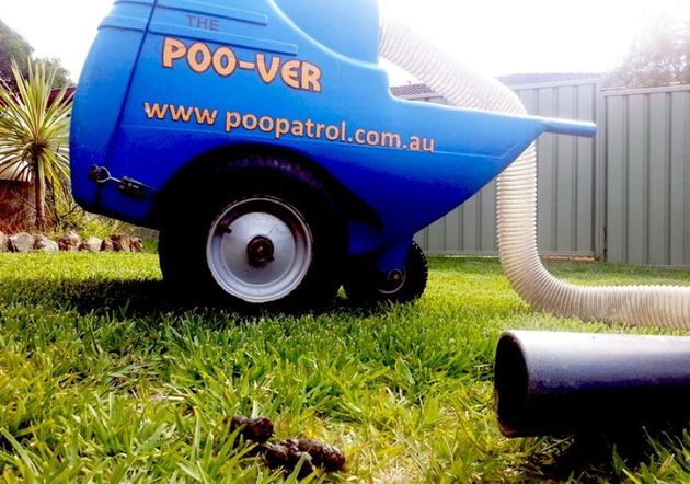 Sydney-based company Poo Patrol take your dog's business