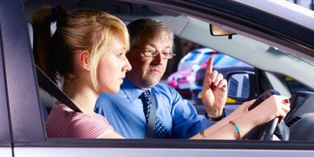 Parents are teaching their children bad driving habits.