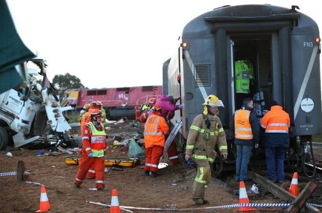 Passengers On Derailed Train 'Lucky To Be