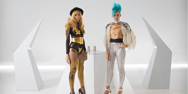 Aussie DJ Duo NERVO try to attract women to engineering in their funky, futuristic new