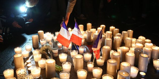 A vigil for the victims of the Nice attack was held at Circular Quay in Sydney.