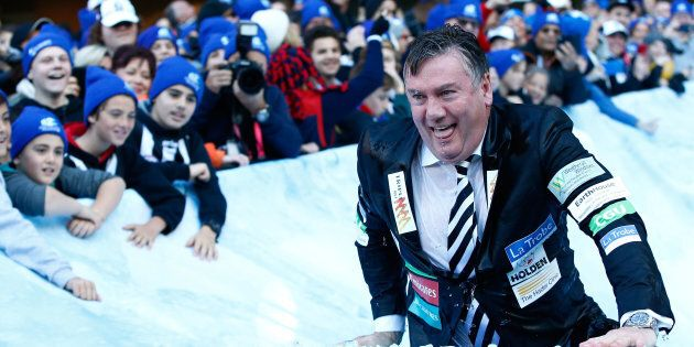 Eddie McGuire has tried to explain his