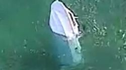 Shocking Footage Of Capsized Boat Emerges As Fishermen Cling To An Esky And A Chair To