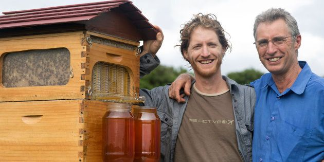 Cedar and Stuart Anderson's Flow Hive was the most crowdfunded campaign outside the
