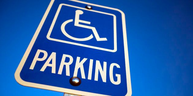 Next time you see someone parking in a disabled space that looks