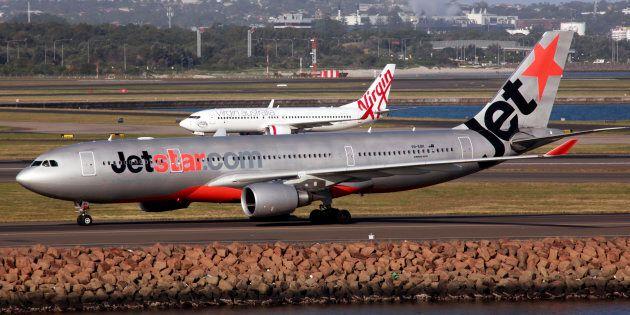 Jetstar passengers have been taken off a flight after being