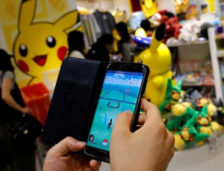 Pokemon Go window displays are a great way to bring attention to your shopfront.