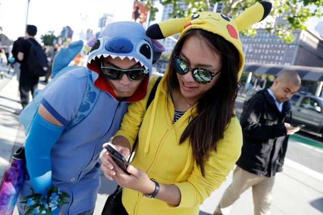 Small businesses can offer incentives or discounts to trainers dressed in Pokemon