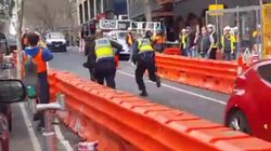 Dramatic Video Emerges Of 'Unwell' Woman In Melbourne CBD Car