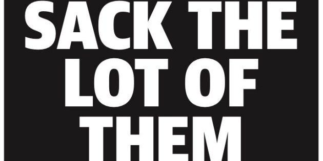 The NT News' front page on