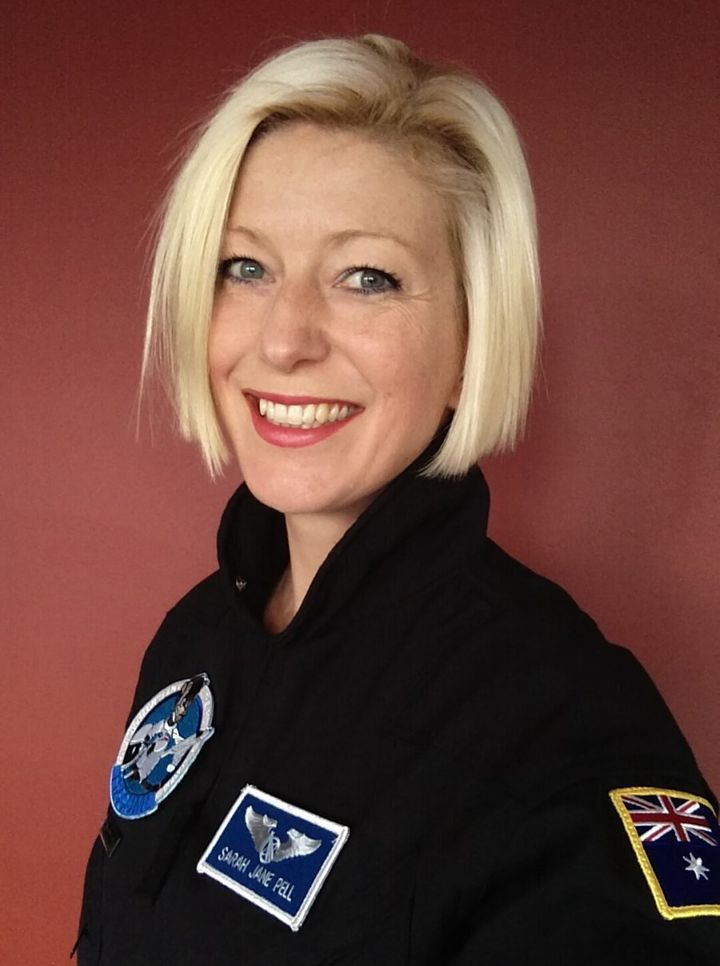 Dr Pell is an artist-astronaut whose speciality is performances and art in extreme environments.